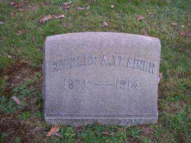TRAINER, CHARLES A. - Columbiana County, Ohio | CHARLES A. TRAINER - Ohio Gravestone Photos