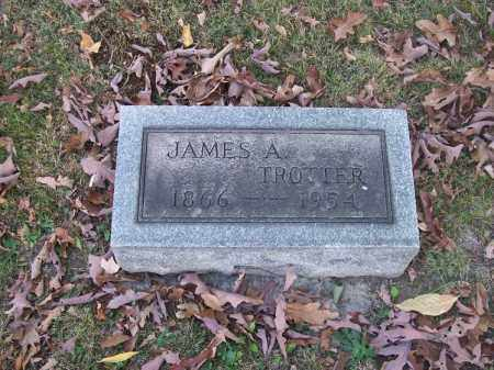 TROTTER, JAMES A. - Columbiana County, Ohio | JAMES A. TROTTER - Ohio Gravestone Photos