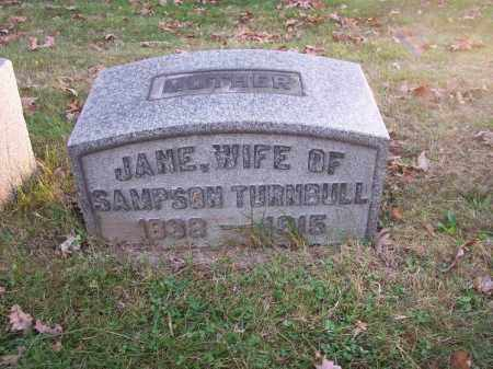 TURNBULL, JANE - Columbiana County, Ohio | JANE TURNBULL - Ohio Gravestone Photos