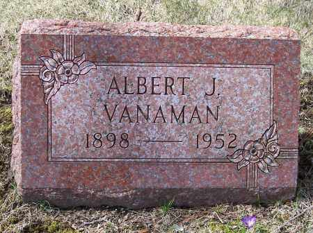 VANAMAN, ALBERT J. - Columbiana County, Ohio | ALBERT J. VANAMAN - Ohio Gravestone Photos