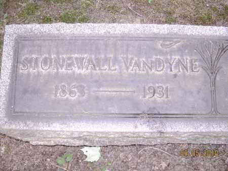 VANDYNE, STONEWALL JACKSON - Columbiana County, Ohio | STONEWALL JACKSON VANDYNE - Ohio Gravestone Photos