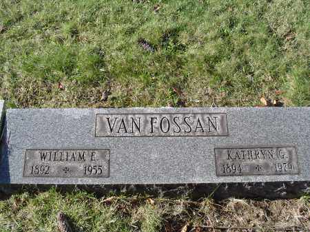 VANFOSSAN, WILLIAM EARL - Columbiana County, Ohio | WILLIAM EARL VANFOSSAN - Ohio Gravestone Photos