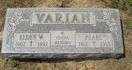 VARIAN, PEARL - Columbiana County, Ohio | PEARL VARIAN - Ohio Gravestone Photos