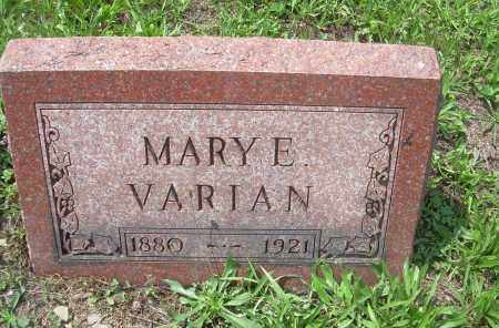 PARSON VARIAN, MARY E - Columbiana County, Ohio | MARY E PARSON VARIAN - Ohio Gravestone Photos