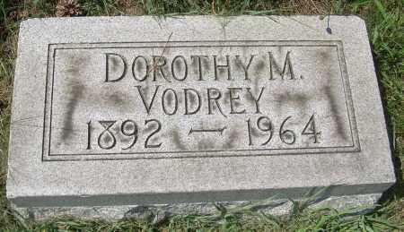 VODREY, DOROTHY M - Columbiana County, Ohio | DOROTHY M VODREY - Ohio Gravestone Photos