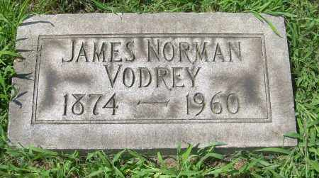 VODREY, JAMES NORMAN - Columbiana County, Ohio | JAMES NORMAN VODREY - Ohio Gravestone Photos