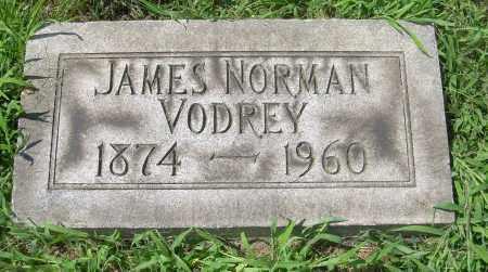VODREY, JAMES NORMAN - Columbiana County, Ohio | JAMES NORMAN VODREY - Ohio Gravestone Photos