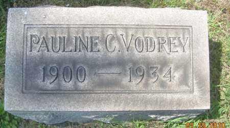 VODREY, PAULINE C - Columbiana County, Ohio | PAULINE C VODREY - Ohio Gravestone Photos