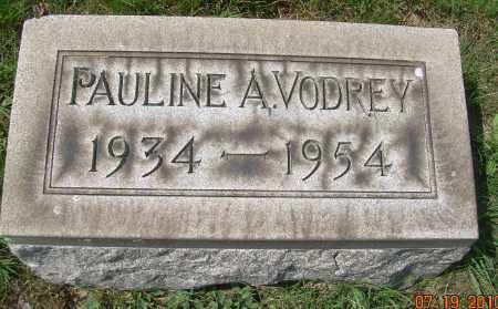 VODREY, PAULINE A - Columbiana County, Ohio | PAULINE A VODREY - Ohio Gravestone Photos