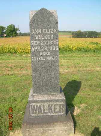WALKER, ANN ELIZA - Columbiana County, Ohio | ANN ELIZA WALKER - Ohio Gravestone Photos