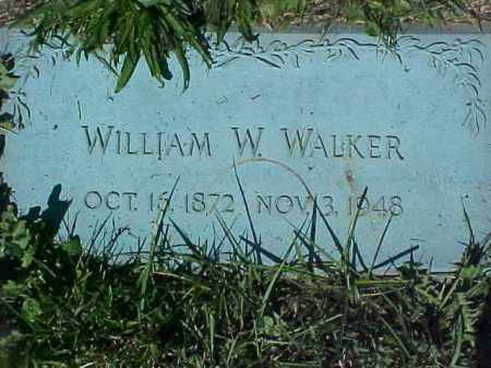 WALKER, WILLIAM W - Columbiana County, Ohio | WILLIAM W WALKER - Ohio Gravestone Photos