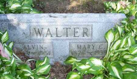 ALLMAN WALTER, MARY - Columbiana County, Ohio | MARY ALLMAN WALTER - Ohio Gravestone Photos
