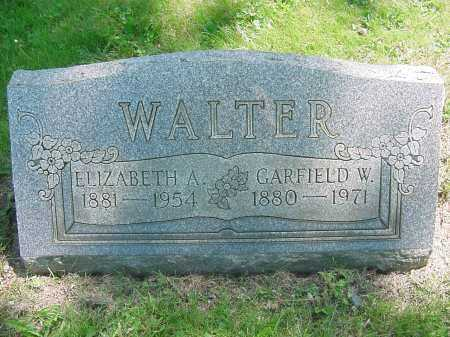 WALTER, GARFIELD - Columbiana County, Ohio | GARFIELD WALTER - Ohio Gravestone Photos