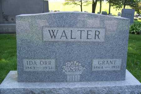 ORR WALTER, IDA - Columbiana County, Ohio | IDA ORR WALTER - Ohio Gravestone Photos