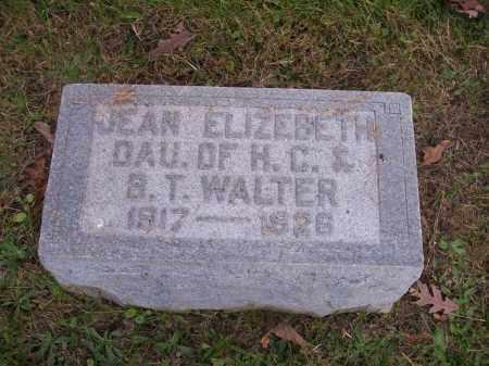 WALTER, JEAN ELIZABETH - Columbiana County, Ohio | JEAN ELIZABETH WALTER - Ohio Gravestone Photos