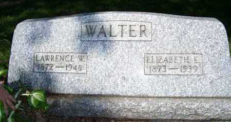 WALTER, LAWRENCE - Columbiana County, Ohio | LAWRENCE WALTER - Ohio Gravestone Photos