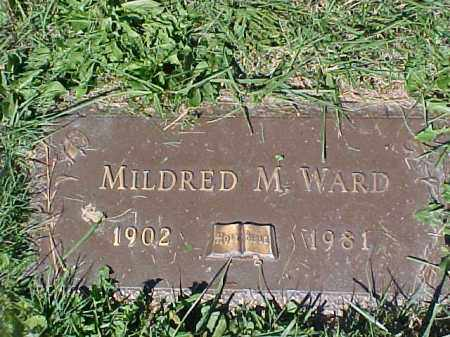 WARD, MILDRED M - Columbiana County, Ohio | MILDRED M WARD - Ohio Gravestone Photos