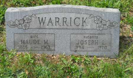 WARRICK, MAUDE M - Columbiana County, Ohio | MAUDE M WARRICK - Ohio Gravestone Photos
