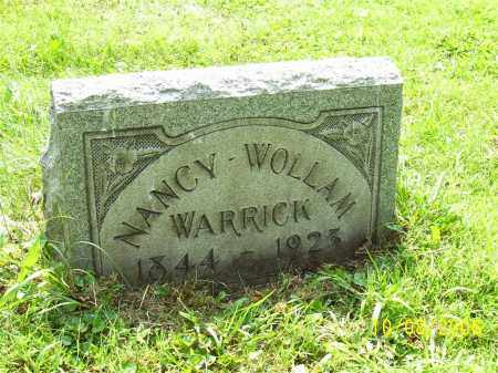 WOLLAM WARRICK, NANCY - Columbiana County, Ohio | NANCY WOLLAM WARRICK - Ohio Gravestone Photos