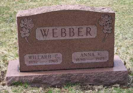 WEBBER, ANNA V. - Columbiana County, Ohio | ANNA V. WEBBER - Ohio Gravestone Photos