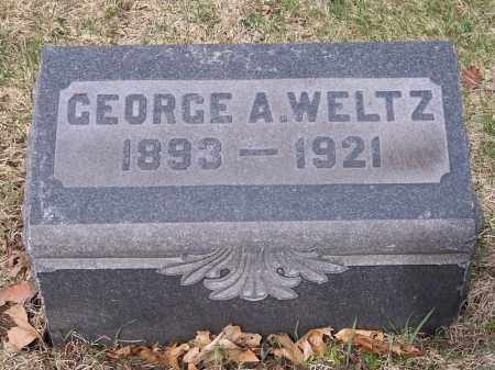 WELTZ, GEORGE A. - Columbiana County, Ohio | GEORGE A. WELTZ - Ohio Gravestone Photos