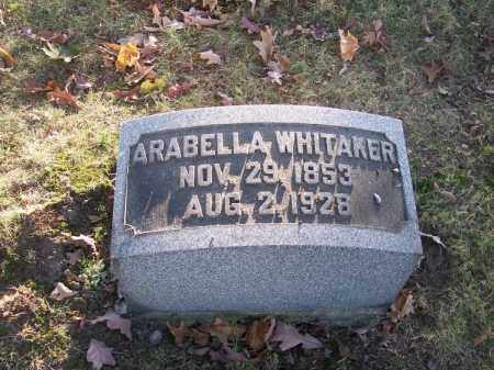WHITAKER, ARABELLA - Columbiana County, Ohio | ARABELLA WHITAKER - Ohio Gravestone Photos