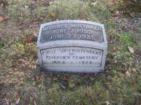 WHITAKER, MICHAEL - Columbiana County, Ohio | MICHAEL WHITAKER - Ohio Gravestone Photos