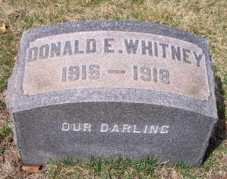WHITNEY, DONALD E. - Columbiana County, Ohio | DONALD E. WHITNEY - Ohio Gravestone Photos