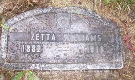 WILLIAMS, ZETTA - Columbiana County, Ohio | ZETTA WILLIAMS - Ohio Gravestone Photos