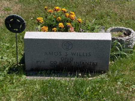 WILLIS, AMOS - Columbiana County, Ohio | AMOS WILLIS - Ohio Gravestone Photos
