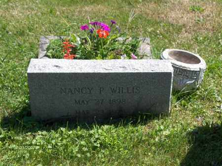 WILLIS, NANCY - Columbiana County, Ohio | NANCY WILLIS - Ohio Gravestone Photos