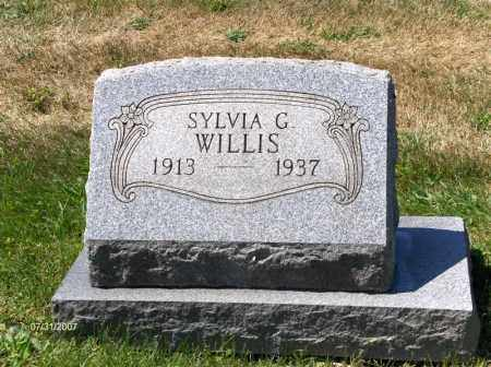 HARTMAN WILLIS, SYLVIA C - Columbiana County, Ohio | SYLVIA C HARTMAN WILLIS - Ohio Gravestone Photos
