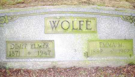FOUNDS WOLFE, EMMA M - Columbiana County, Ohio | EMMA M FOUNDS WOLFE - Ohio Gravestone Photos