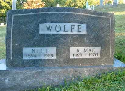 WOLFE, NETT - Columbiana County, Ohio | NETT WOLFE - Ohio Gravestone Photos