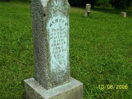 WOLLAM, HENRY - Columbiana County, Ohio | HENRY WOLLAM - Ohio Gravestone Photos