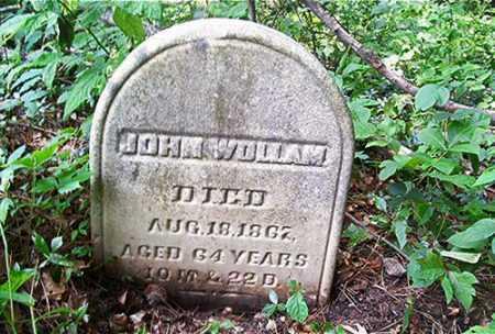 WOLLAM, JOHN - Columbiana County, Ohio | JOHN WOLLAM - Ohio Gravestone Photos