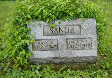 SANOR, HARVEY H. - Columbiana County, Ohio | HARVEY H. SANOR - Ohio Gravestone Photos