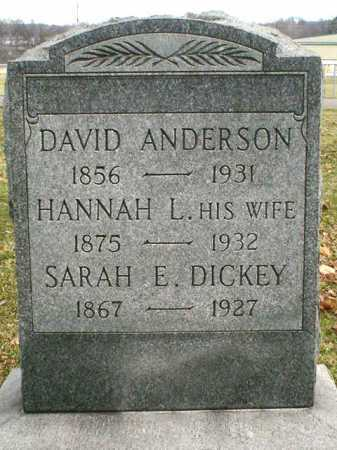 GUILLIAMS DICKEY, SARAH - Coshocton County, Ohio | SARAH GUILLIAMS DICKEY - Ohio Gravestone Photos