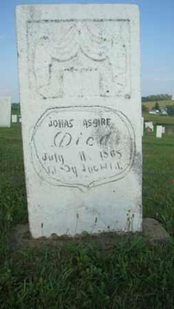 ASIRE, JONAS - Coshocton County, Ohio | JONAS ASIRE - Ohio Gravestone Photos