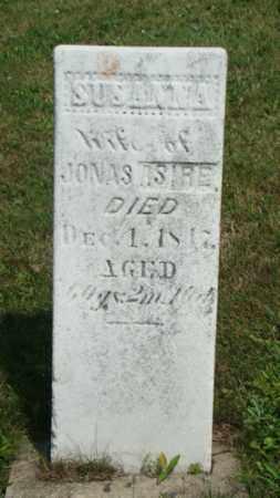 ASIRE, SUSANNA - Coshocton County, Ohio | SUSANNA ASIRE - Ohio Gravestone Photos