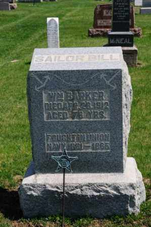 BARKER, WILLIAM - Coshocton County, Ohio | WILLIAM BARKER - Ohio Gravestone Photos