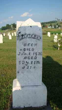 BECK, MICHAEL - Coshocton County, Ohio | MICHAEL BECK - Ohio Gravestone Photos