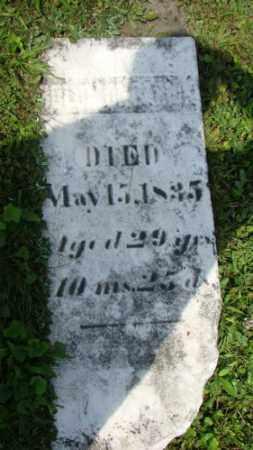 BROOK (?), SOLOMON - Coshocton County, Ohio   SOLOMON BROOK (?) - Ohio Gravestone Photos