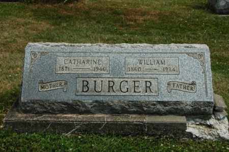 BURGER, WILLIAM - Coshocton County, Ohio | WILLIAM BURGER - Ohio Gravestone Photos