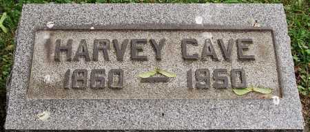 CAVE, HARVEY - Coshocton County, Ohio | HARVEY CAVE - Ohio Gravestone Photos