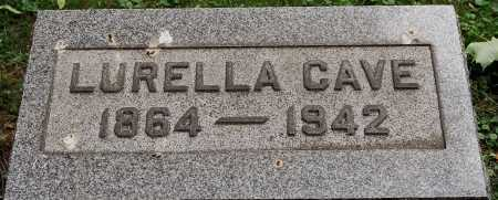 CAVE, LURELLA - Coshocton County, Ohio | LURELLA CAVE - Ohio Gravestone Photos