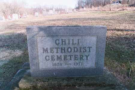 CHILI, CEMETERY - Coshocton County, Ohio | CEMETERY CHILI - Ohio Gravestone Photos