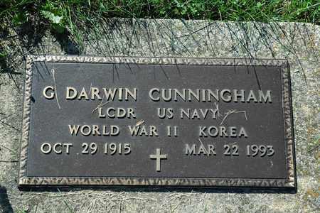 CUNNINGHAM, G. DARWIN - Coshocton County, Ohio | G. DARWIN CUNNINGHAM - Ohio Gravestone Photos