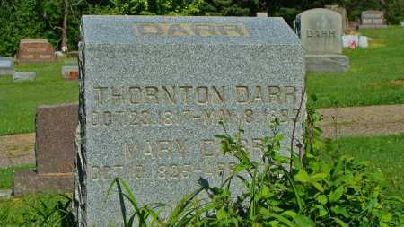 DARR, THORNTON - Coshocton County, Ohio | THORNTON DARR - Ohio Gravestone Photos