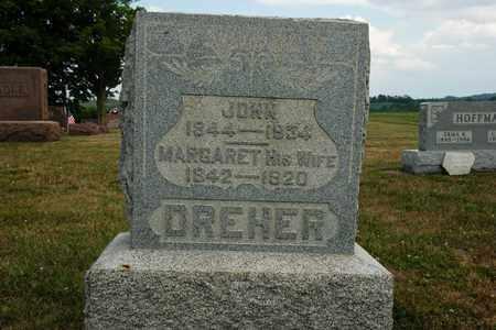 DREHER, JOHN - Coshocton County, Ohio | JOHN DREHER - Ohio Gravestone Photos